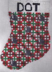 Dot's Stocking – Sunday Stitching