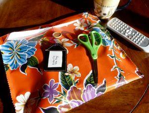 Make an Oilcloth Project Bag