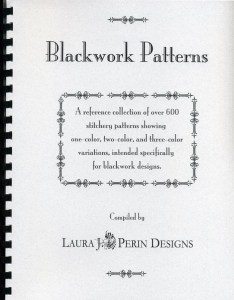 blackwork patterns by laura perin cover