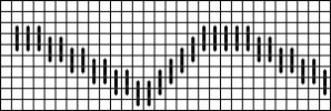 Mini Bargello Free Pattern – Hildegard