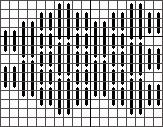 Quilty Bargello Mini-sock – Free Pattern