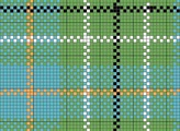 duncan charted needlepoint or cross stitch tartan plaid, designed by needlepoint expert janet m. perry