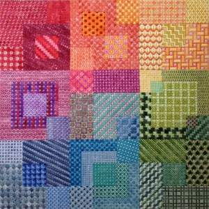 Needlepoint Stitch Sampler – Free Pattern Alert