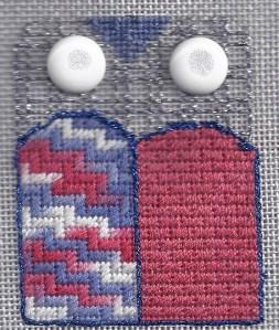 Learn-a-stitch Needlepoint Owl – Brick by Brick