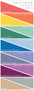 Spring 2014 Colors Make Great Needlepoint