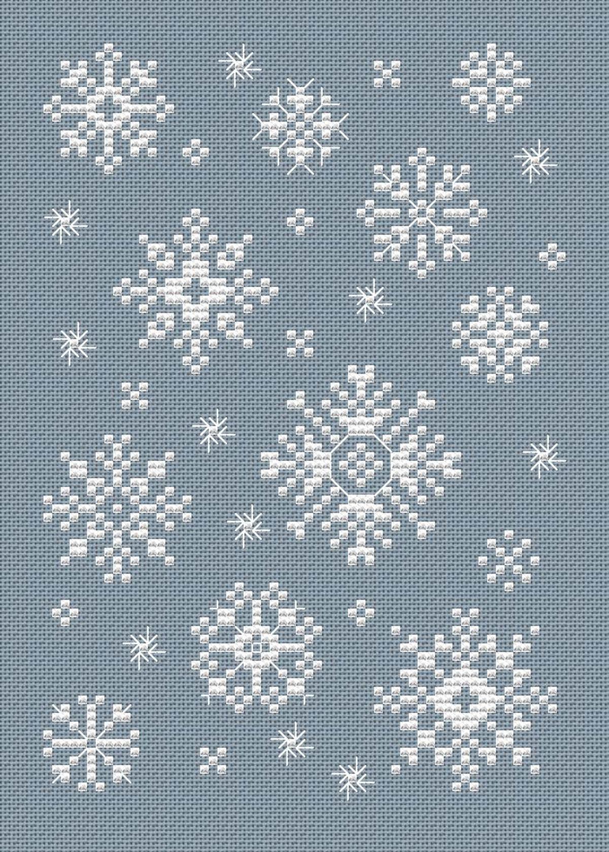 Swirly Snow Free Chart  U2013 Nuts About Needlepoint