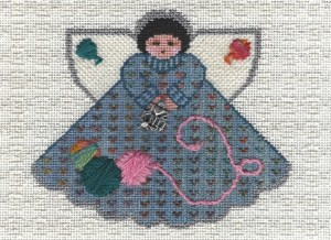 knitting angel