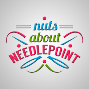 nuts about needlepoint logo