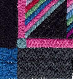 Roman Stripe Pillow – Free Needlepoint Project
