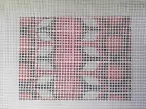 How to Paint a Needlepoint Canvas