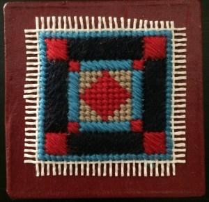 little Amish needlepoint box free project