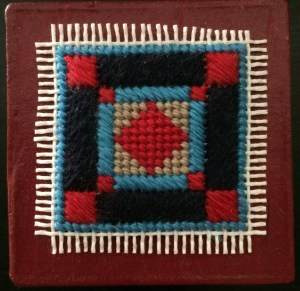 little Amish needlepoint box free project