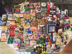 Alli Eagan needlepoint ornament collection