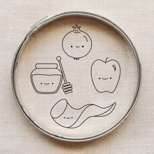 Rosh Hashanah Kawaii outlines