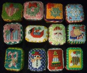 Melissa Shirley Christmas Petit Fours