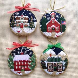Making Needlepoint Ornaments Stiff
