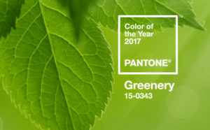 greenery, color of the year 2017