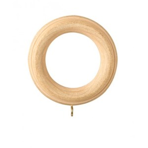 wooden drapery ring