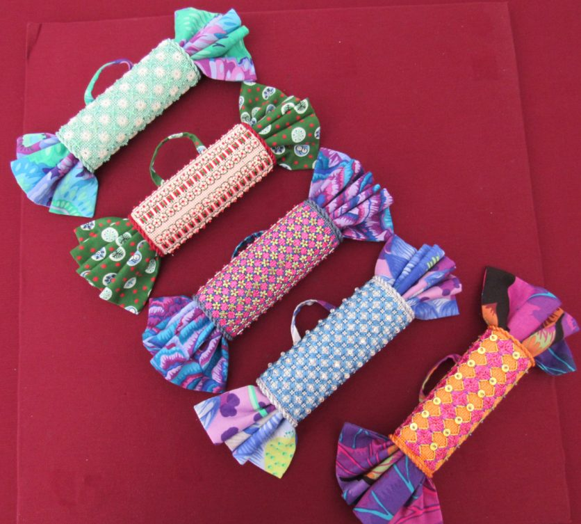 roll-up ornaments from Rainbow Gallery