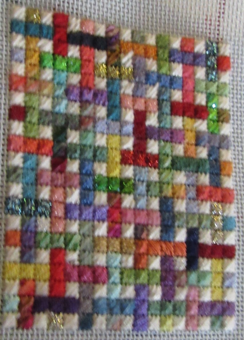 Scrap Basket Free Needlepoint Project Nuts About Needlepoint
