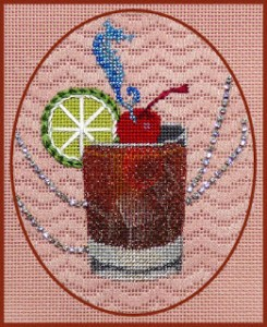 Cuba Libre from Leigh Designs needlepoint