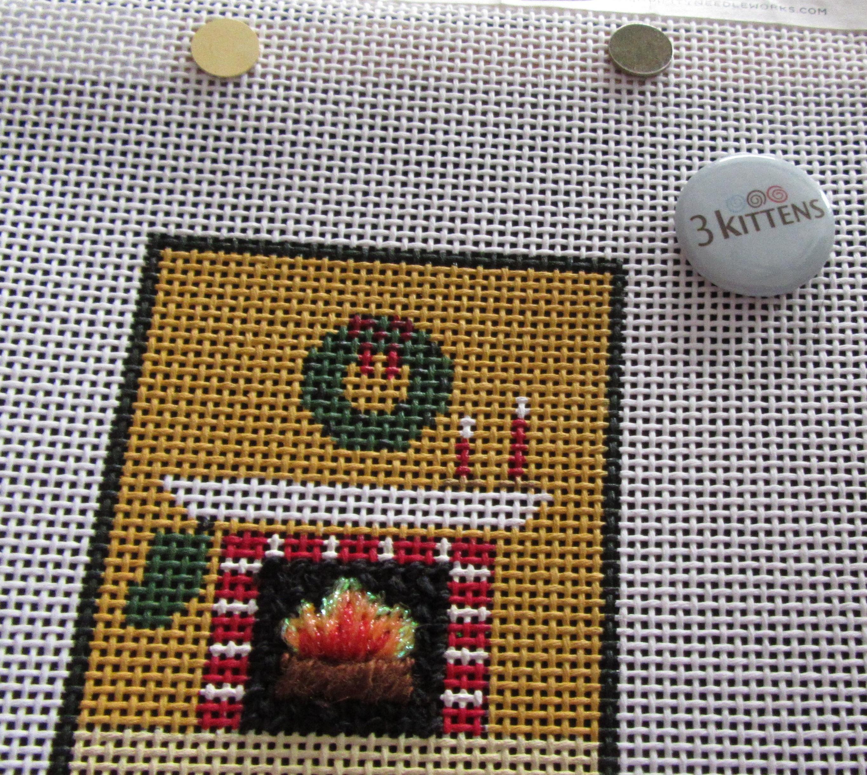 Cross Stitch Button Pattern