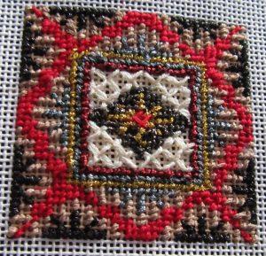 Mindy Mini Metallic Free Stitch Guide