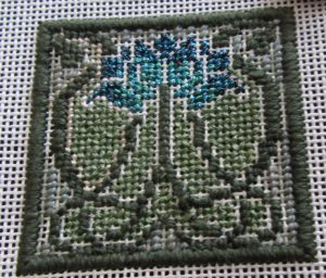 Arts & Crafts Tile Free Mindy Mini Stitch Guide