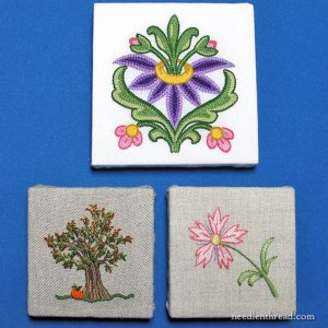 Fast DIY Finish for Small Needlepoint