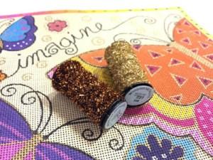 Laurel Burch needlepoint with Kreinik threads