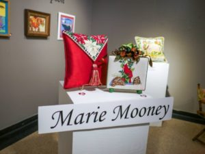 Marie Mooney needlepoint