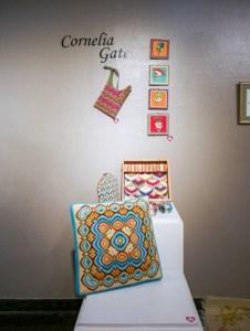 Cornelia Gates needlepoint & Bargello