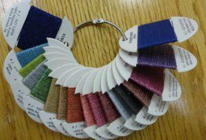 Vineyard Jewels metallic thread