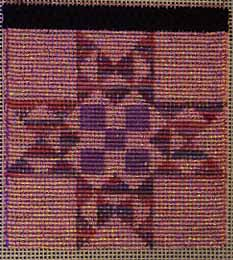 or nue needlepoint quilt block