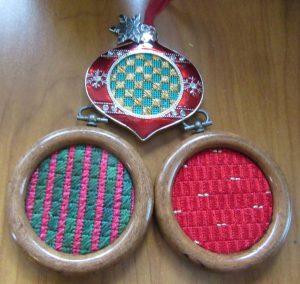 stitch showcase needlepoint ornaments