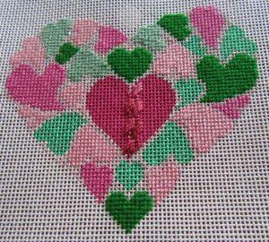 hearts of hearts needlepoint