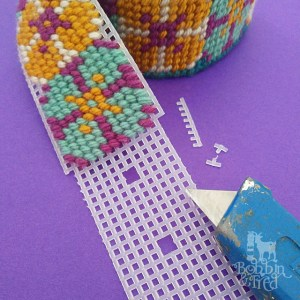 plastic canvas needlepoint belt