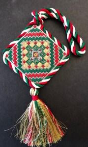 Debbee's Design free needlepoint ornament 2019
