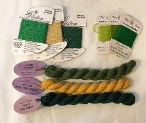 wool threads