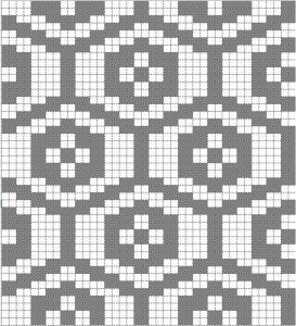 Japanese pattern on grid
