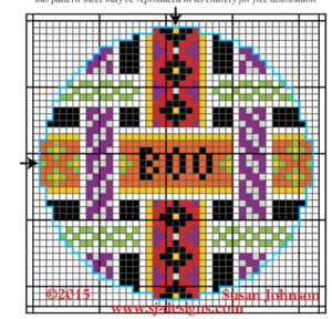 halloween free needlepoint design