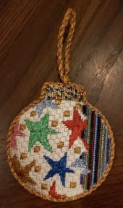 Penny MacLeod needlepoint ornament