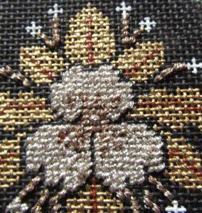 DMC Grande Diamond used for needlepoint stitch