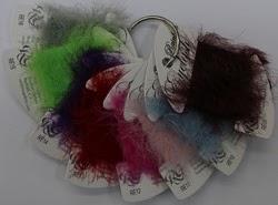 rainbow eyelash thread