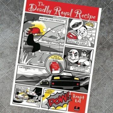 Deadly Royal Recipe - Book