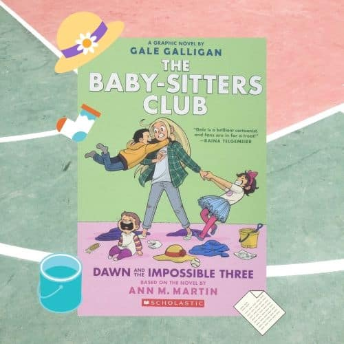 Book: Baby-sitters club by Raina Telgemeier