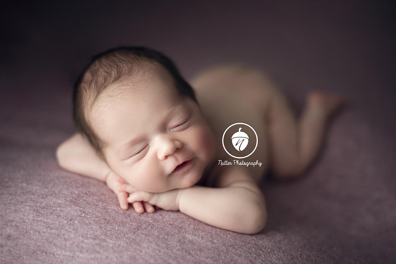 6 week old preemie smile