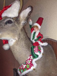 Rocky the Naughty Elf - Elf On The Shelf Adult Version