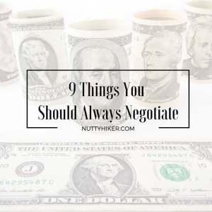 9 Things You Should Always Negotiate