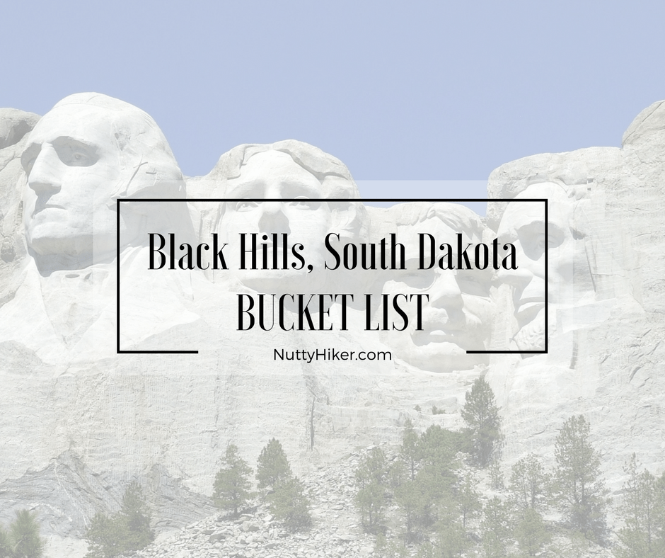 Black Hills, South Dakota Bucket List